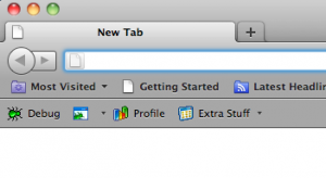 Zend Studio Toolbar